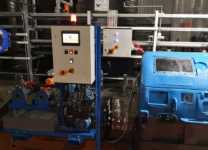 Flowquip design and supply caustic dilution and batching